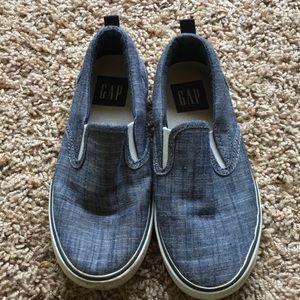 Gap Kids Chambray Slip on Sneaker- 13
